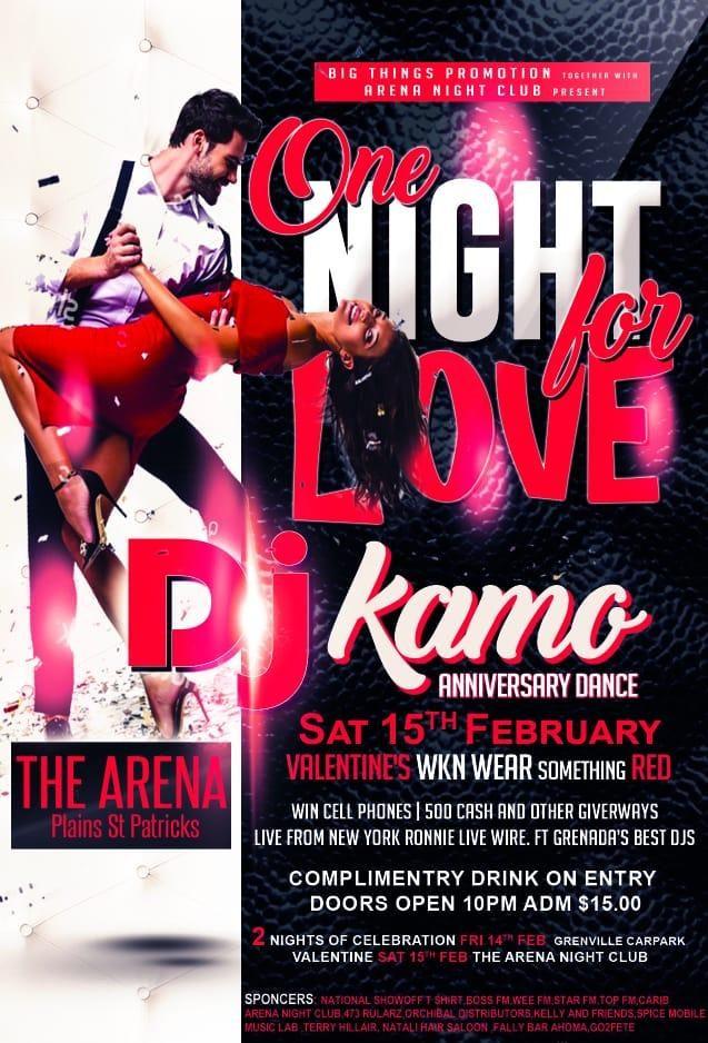 DJ Kamo Anniversary Dance 2020
