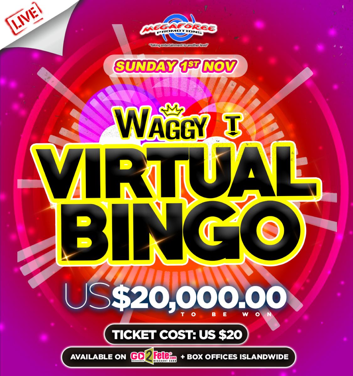 Waggy T Virtual BINGO Sun.Nov 1st 2020