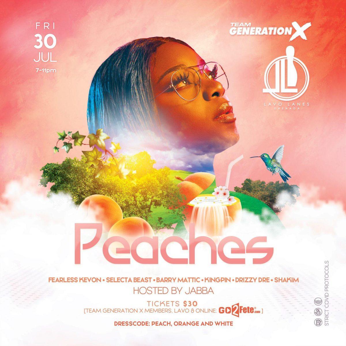 Peaches @ Lavo Lanes