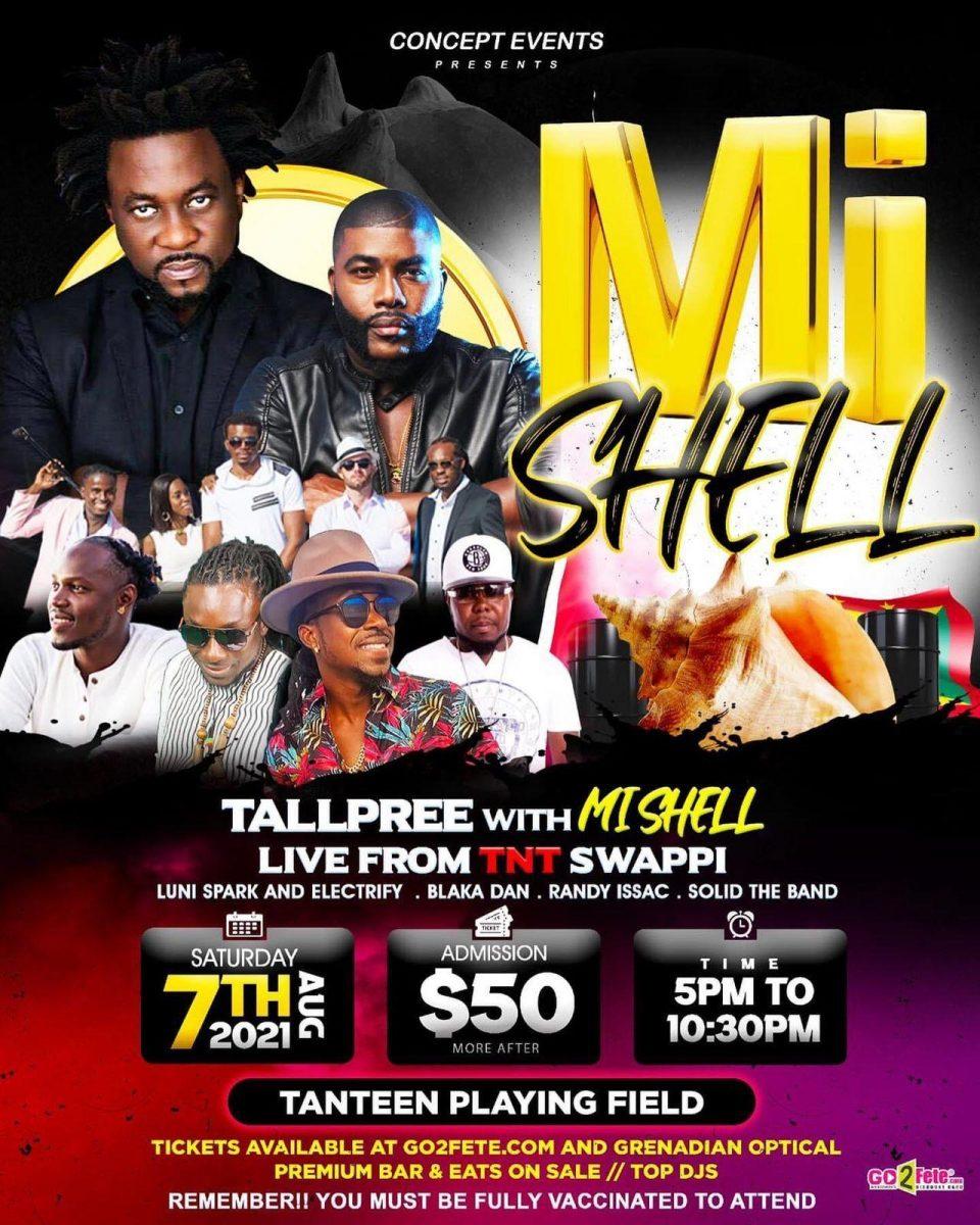 Mi Shell - Sat Aug 7th