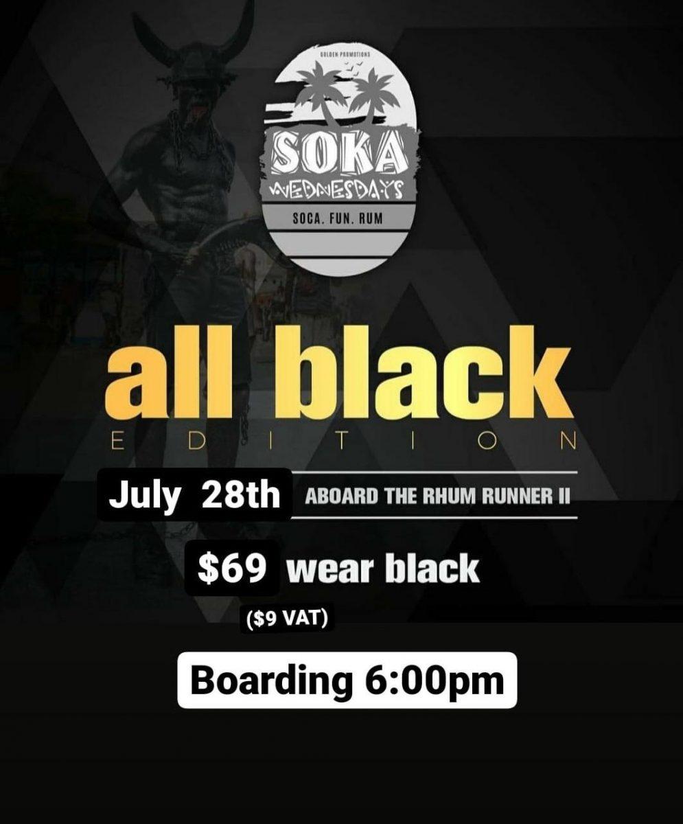 Soka Wednesdays - All Black July 28th