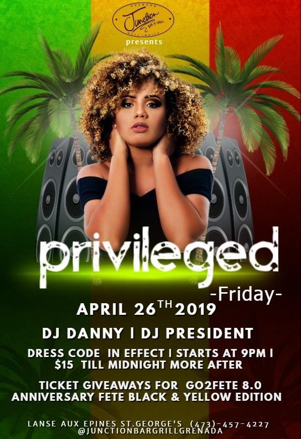 Privileged Friday @ Junction Bar