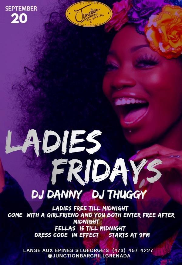 Ladies Fridays @ Junction Bar