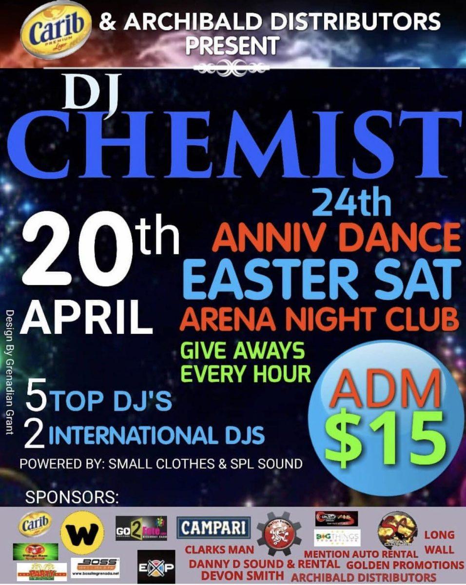 DJ Chemist 24th Anniversary