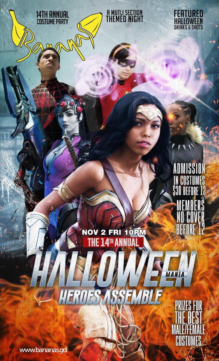 Halloween Mania - Club Bananas Nov.2nd