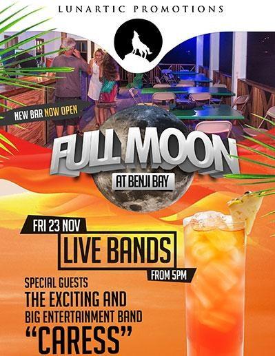 Full Moon Party at Benji Bay