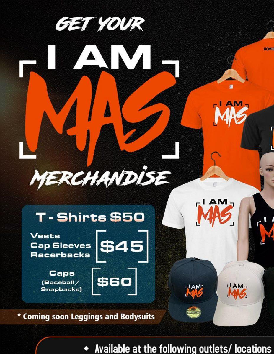 I AM MAS Merchandise - OUTLETS