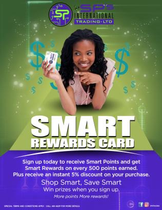 Sp Intermational's Smart Reward Card (Loyalty Card)