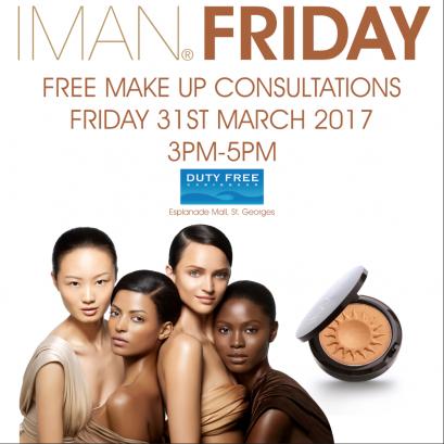 IMAN Friday at Dutyfree Caribbean