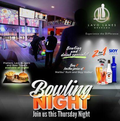 Bowling Night at Lavo Lanes