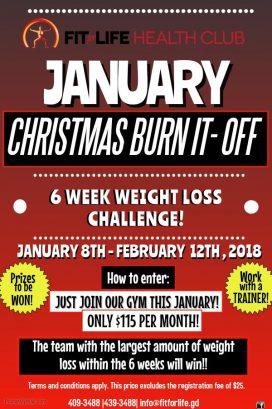 Christmas Burn It Off Challenge