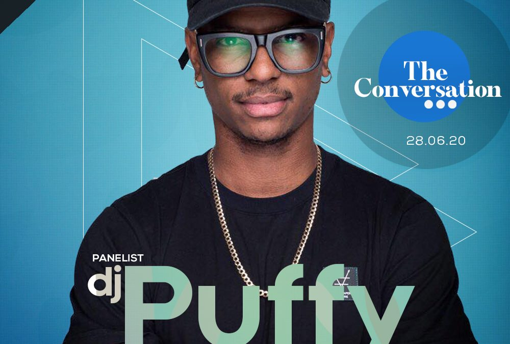 THIRD PANELIST FOR THE CONVERSATION – DJ PUFFY